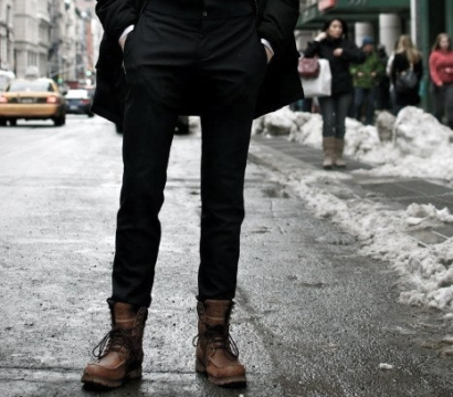 Férfi Téli Cipő magas szárú cipő 2