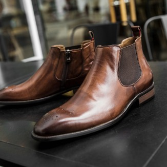 Férfi Téli Cipő Chelsea Boots