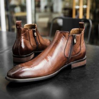 Férfi Téli Cipő Chelsea Boots2
